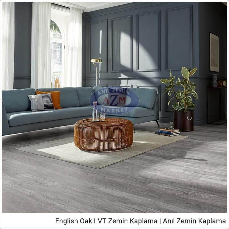 Mflor LVT zemin kaplama uygulama English Oak Chester Oak
