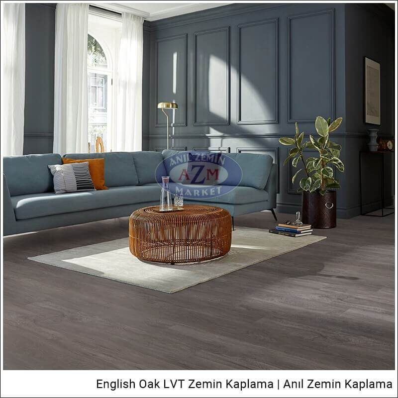 Mflor LVT zemin kaplama uygulama English Oak Epping Oak