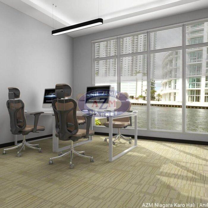 AZM Polipropilen karo halı ofis halısı Niagara 01
