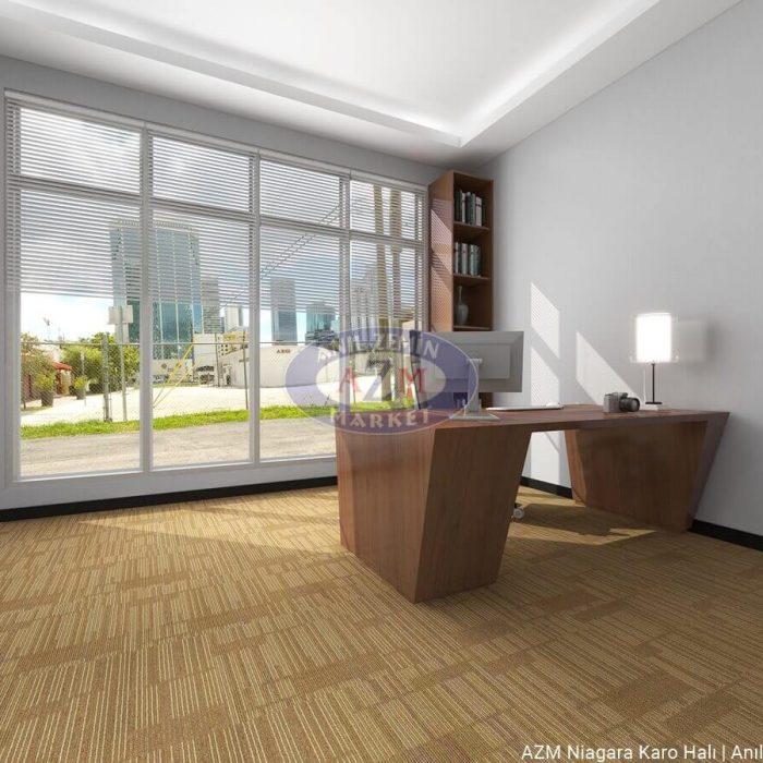 AZM Polipropilen karo halı ofis halısı Niagara 02
