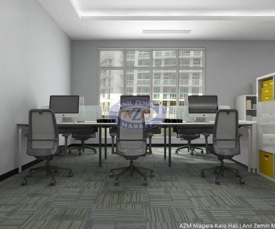 Anıl Zemin Polipropilen karo halı ofis halısı ve ofis halısı fiyatları Niagara 05