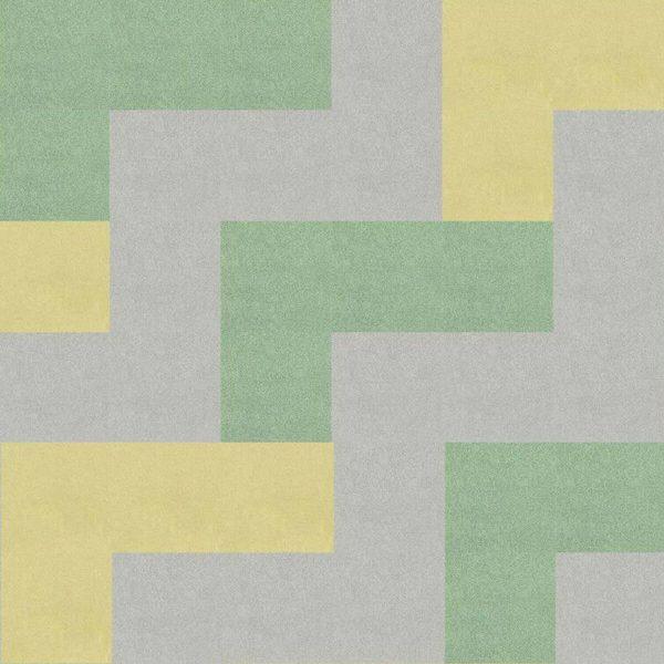 Voxflor karo halı Mere Color desen uygulama 2