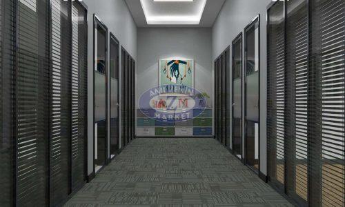 AZM karo halı ofis halısı Niagara 05