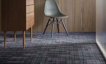 Anıl zemin Tessera alignment polyamid 50x50 Karo Halı - ofis halısı