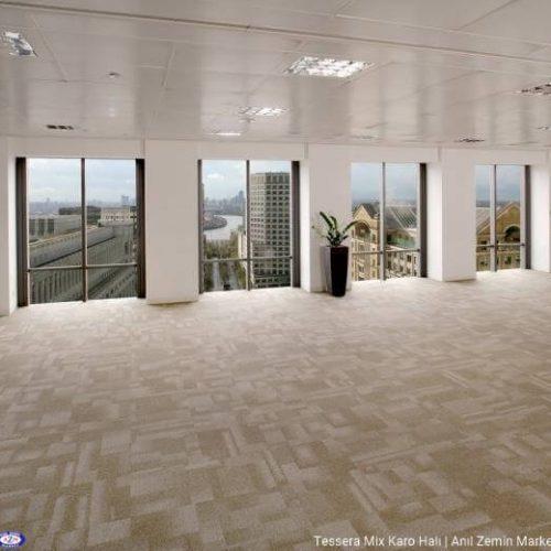 Tessera mix polyamid 50x50 Karo Halı - ofis halısı 952