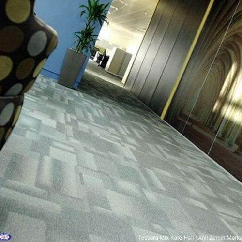 Tessera mix polyamid 50x50 Karo Halı - ofis halısı 2