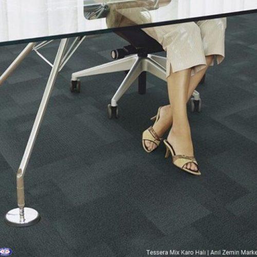 Tessera mix polyamid 50x50 Karo Halı - ofis halısı 3