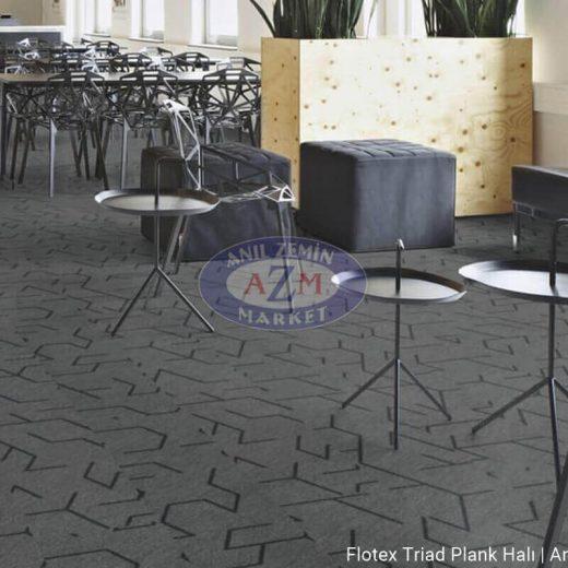 flotex triad plank karo halı uygulama görseli 131007