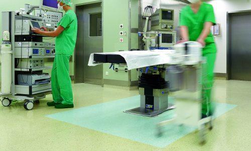 hastane ameliyethane pvc zemin kaplama