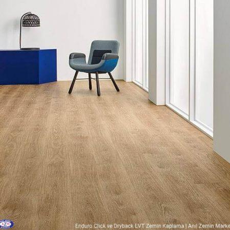 Enduro click meşe desenli pvc vinil LVP-LVT zemin kaplama 69101DR3-69101CL3 pure oak