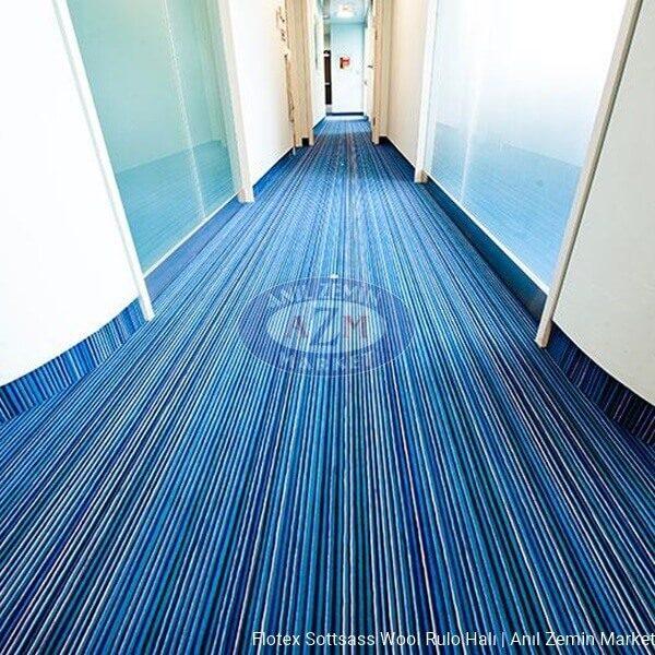 Flotex Sottsass Wool rulo halı uygulama görseli - 990601