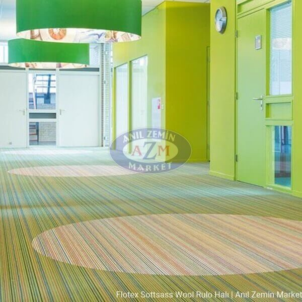 Flotex Sottsass Wool rulo halı uygulama görseli - 990607