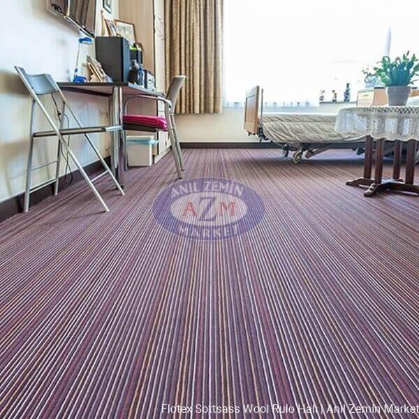 Flotex Sottsass Wool rulo halı uygulama görseli - 990612