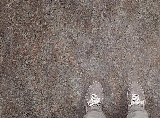 Marmoleum vivace linolyum dogal zemin kaplaması 3421-342135 oyster mountain