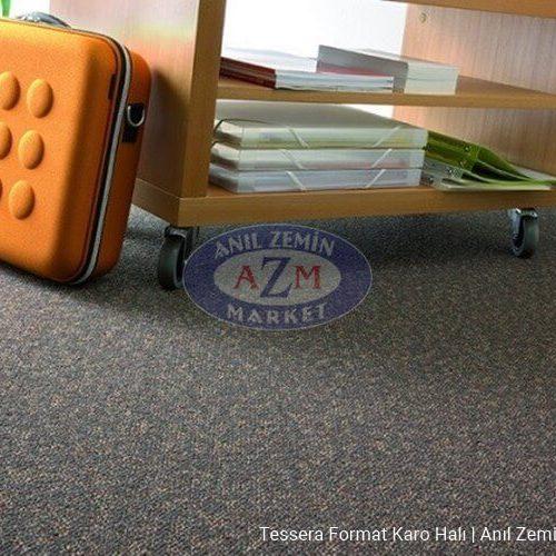 gri karo halı - karo ofis halısı - tessera halı - ucuz karo halı