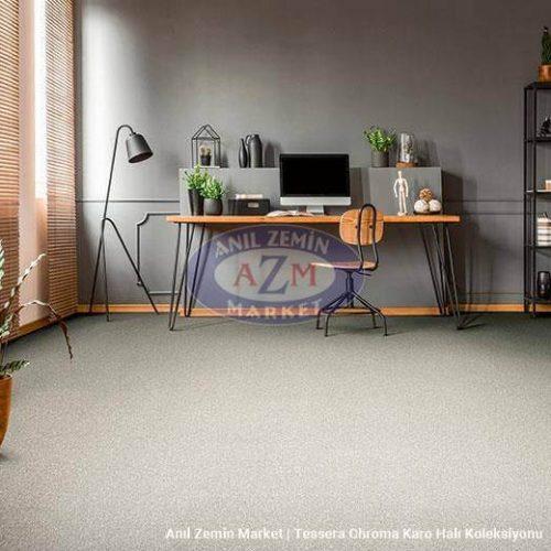 gri ofis karo halı - forbo flooring - 50x50 halı
