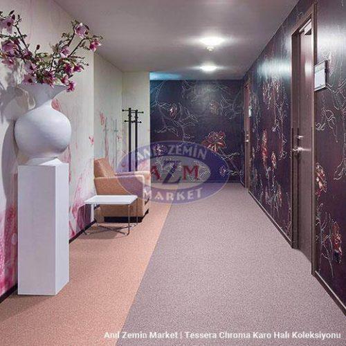 gri karo halı - forbo flooring - 50x50 halı