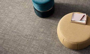 Tessera perspective polyamid ofis karo halı 3904 mirage uygulama