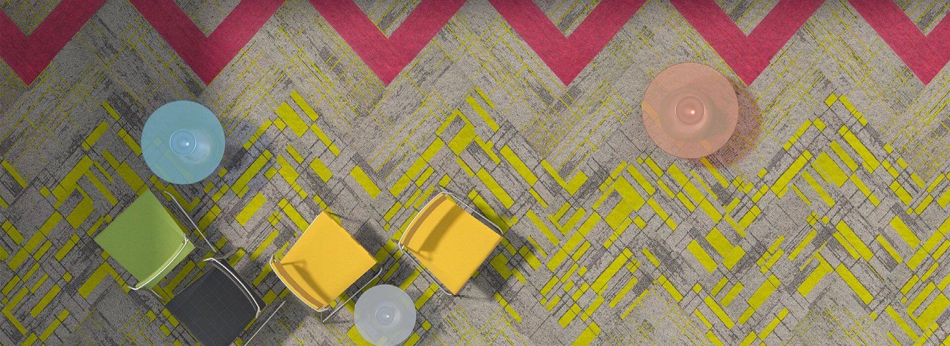 renkli karo halı, ucuz ofis halısı - ucuz karo halı
