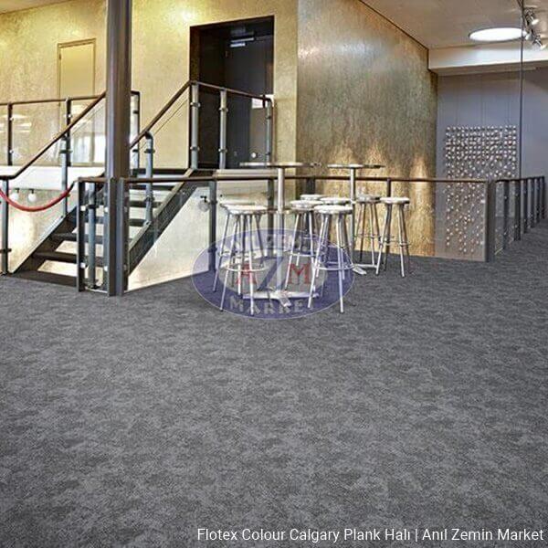flotex colour calgary plank halı p990002 Calgary grey