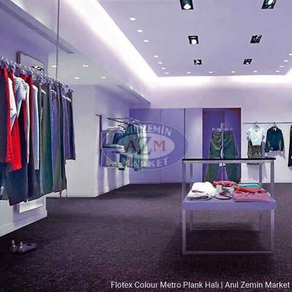flotex colour metro plank halı - p946016 Metro grape