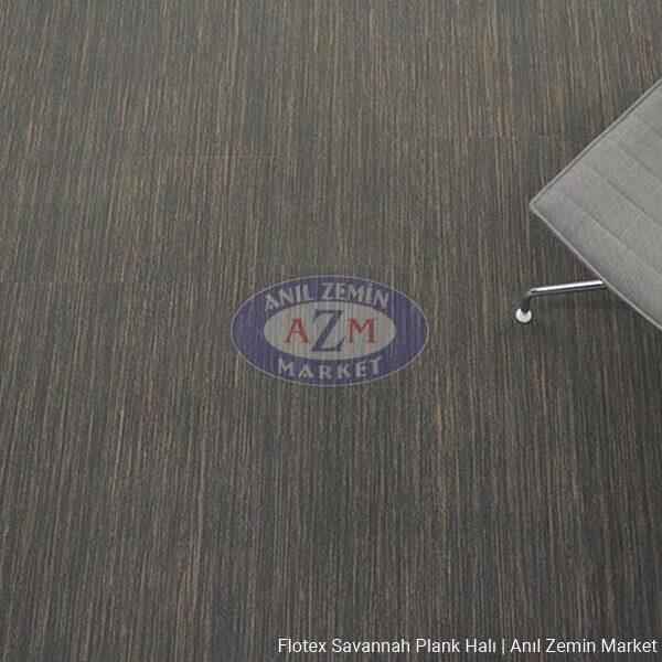 flotex savannah plank karo halı uygulama - 911006 liquorice