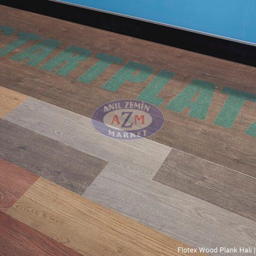 flotex wood plank karo halı uygulama - Beckum Spor salonu 1