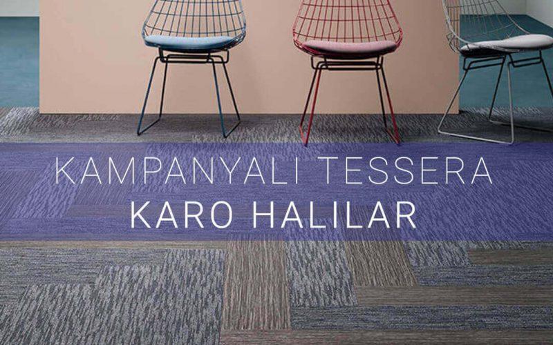 Tessera karo halılar kampanya görseli