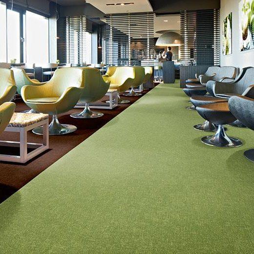 yeşil leke tutmayan antibakteriyel ofis halısı