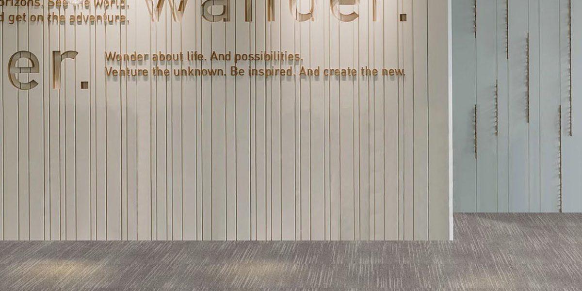 ofis halısı - karo halı - gri halı